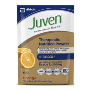 Juven Therapuetic Nutrition Powder, Orange, Institutional, 27.5g